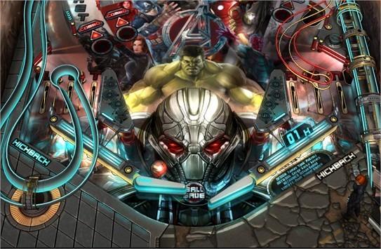 Avengers : Age of Ultron Pinball