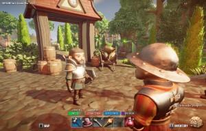Le character design au style bon enfant, les décors colorés et l'univers enchanteur font de ce RPG une vraie merveille pour les yeux !