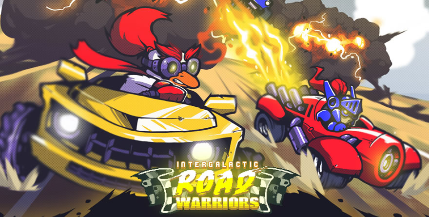 Intergalactic Road Warriors : une certaine illisibilité