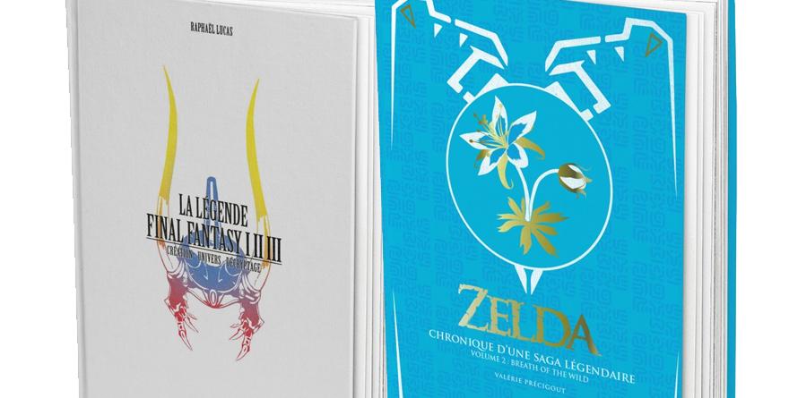 """""""Zelda. Chronique d'une Saga Légendaire (Volume 2)"""" et """"La Légende Final Fantasy I, II & III"""""""