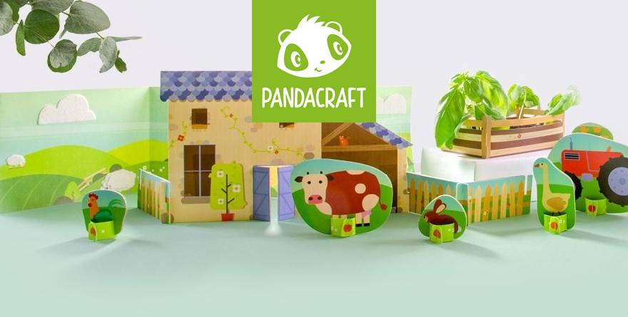 Pandacraft : Kit Vert pour les enfants de 3 à 7 ans