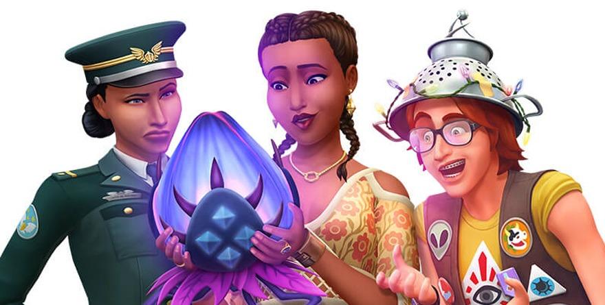 Sims 4 : Strangerville