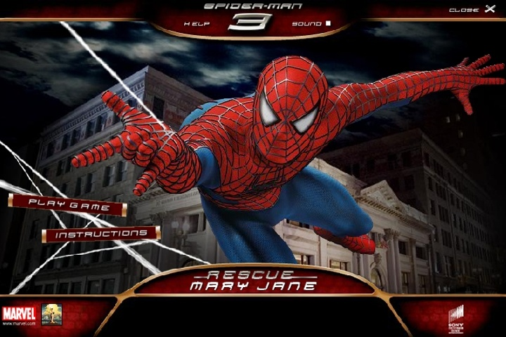 Spiderman 3 Rescue Mary Jane Game   Spiderman games   Games Loon Spiderman 3 Rescue Mary Jane Game