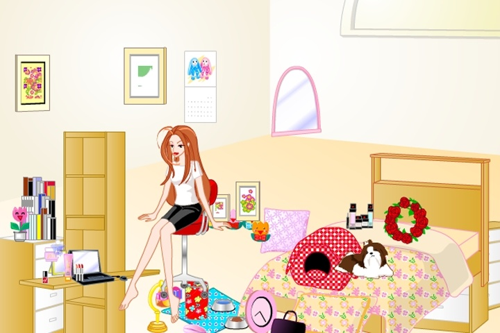 barbie bedroom makeover game - decorating games - games loon