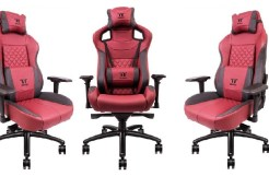 Thermaltake launches new Gaming Chairs made from real leather