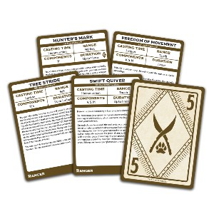 Spellbook Cards D&D 5.0