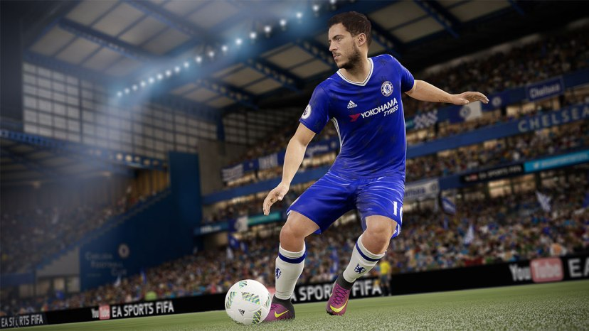 FIFA 17 gameplay screenshot
