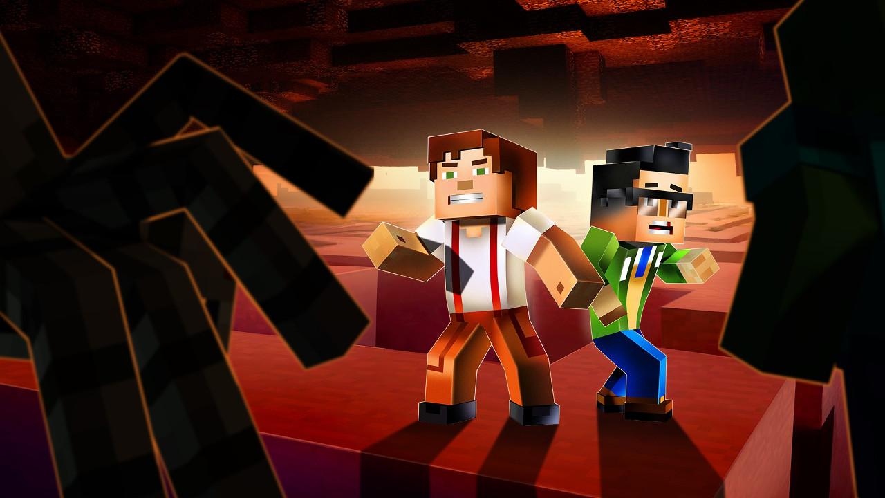 Minecraft Story Mode Season Two Ep 3 Jailhouse