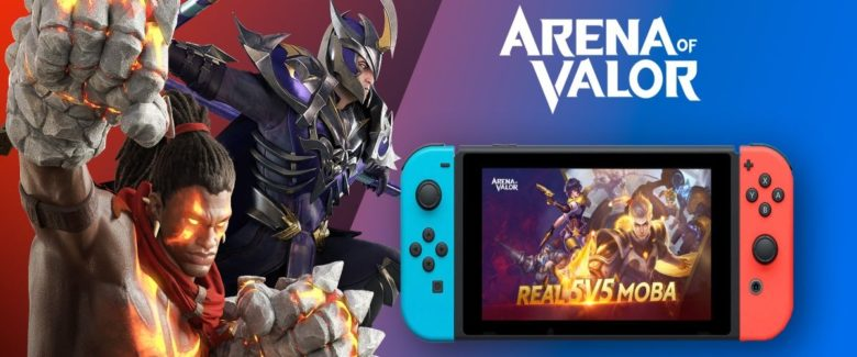 Hands On In Arena Of Valor Switch Closed Beta