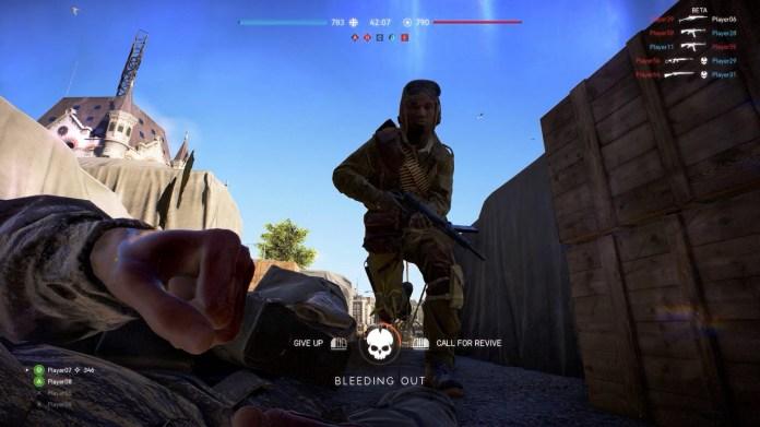 نتيجة بحث الصور عن Battlefield V The Crawling on the back