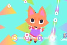 パステルカラーで描かれる友情のADV『Button City』現地8月10日リリースーシャイなキツネが貪欲なネコに立ち向かう 画像
