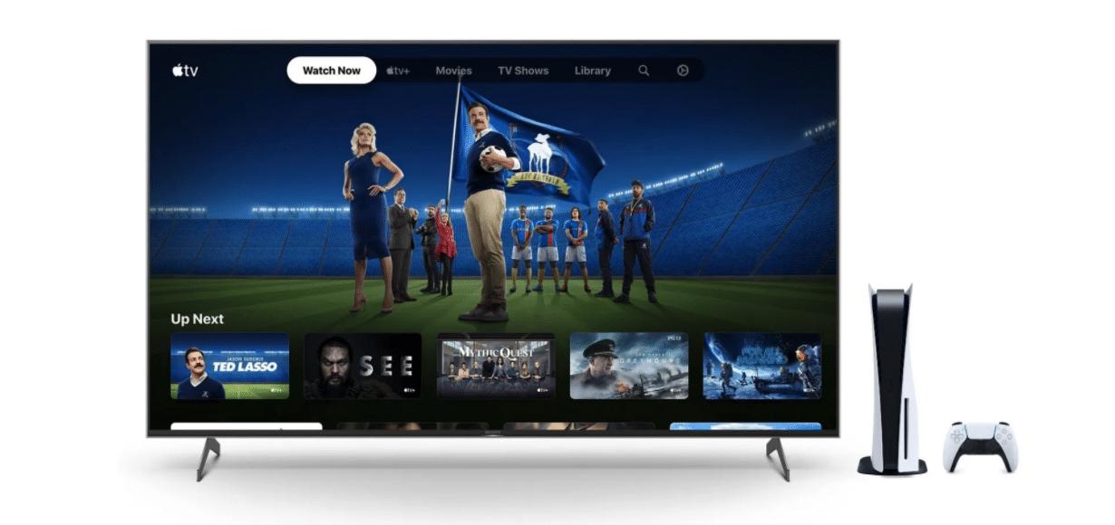 Apple TV+ sur PS5