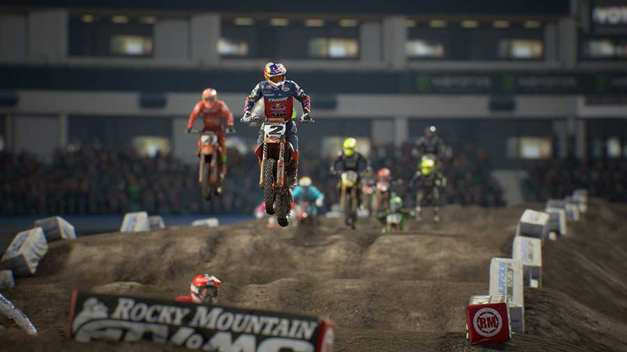 Monster Energy Supercross 3 recensione ps4
