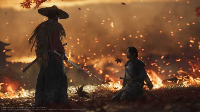 ghost of tsushima sequenze cinematiche