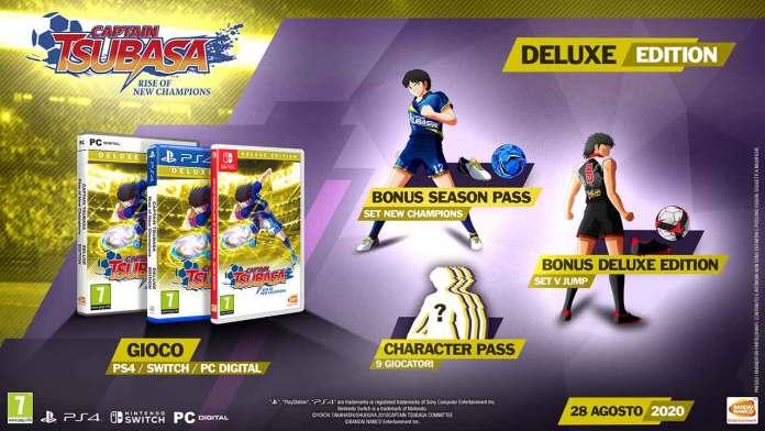 captain tsubasa rise new champions deluxe edition