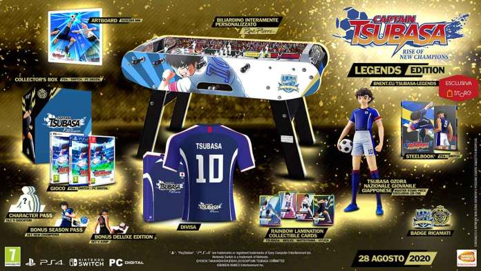 captain tsubasa rise new champions legends edition
