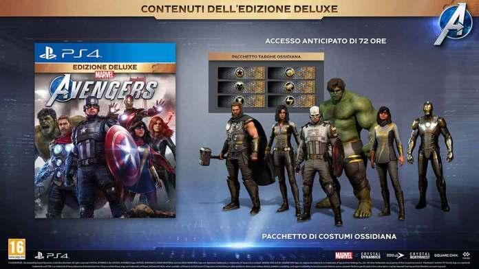marvel avengers edizione speciale deluxe