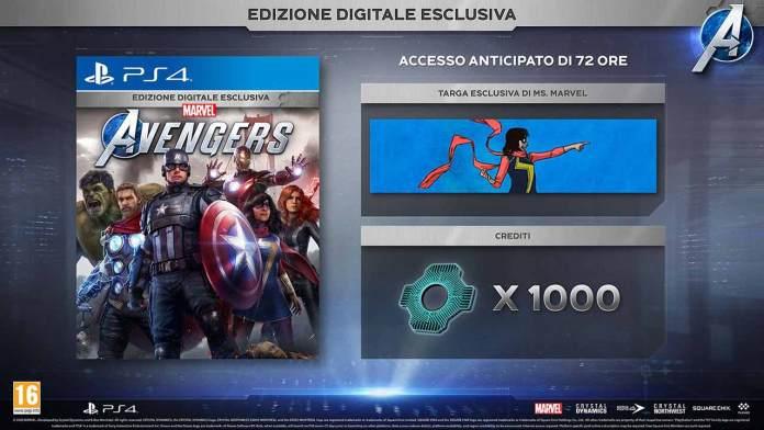 marvel avengers edizione speciale esclusiva