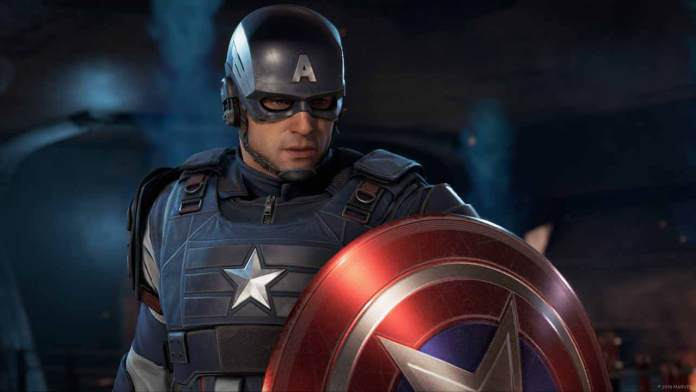 Marvel avengers personaggi captain america