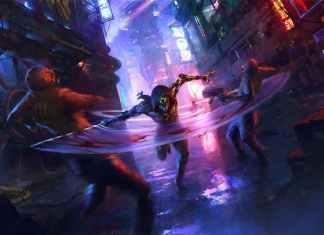 Ghostrunner cyberpunk