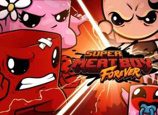 Super Meat Boy Forever 2021
