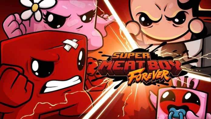 Super Meat Boy Forever 2021
