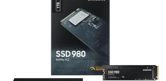 SSD NVMe 980