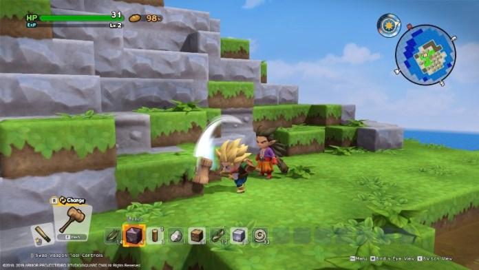 Dragon Quest Builders 2 stanze