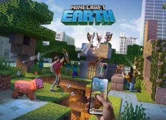 Minecraft Earth gameplay