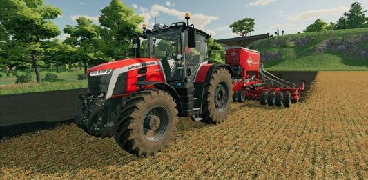 Farming Simulator 22 gameplay
