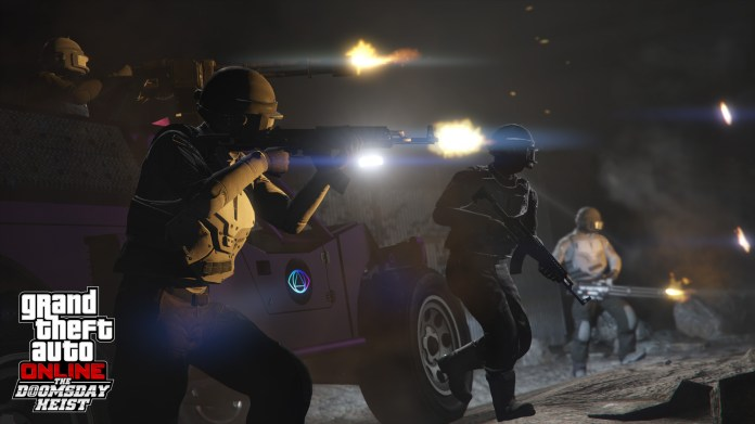 Gta 5 Doomsday Heist Event Now Out For Ps4 Xbox One And Pc Gamespot
