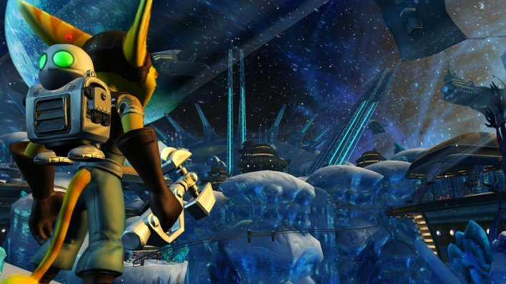 Ratchet and Clank in game shot