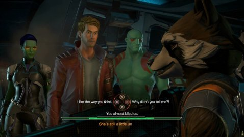 telltale games guardians of the galaxy