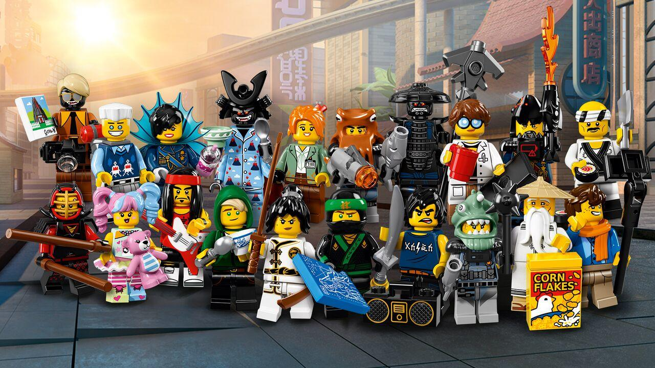 Available Now  LEGO Ninjago Movie Minifigure Series   GamesReviews com     bananas for this content  and the good news is that the LEGO Ninjago  Movie goodness doesn t end here  Also today  fans of the franchise can get  their
