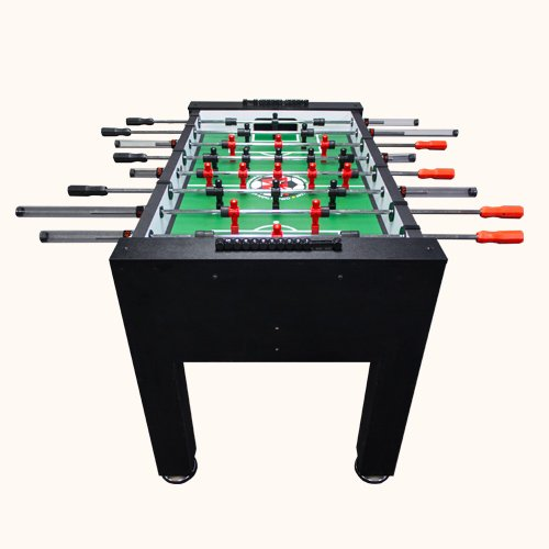 Warrior Pro Foosball Table Viewed From The Rear