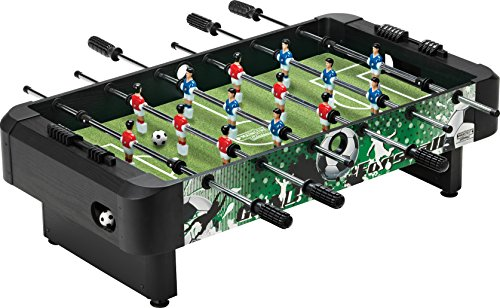 The First Foosball Table Weu0027re Looking At Is By Mainstreet Classics And  Offers All The Fun Of Foosball Without Taking Up Too Much Space.