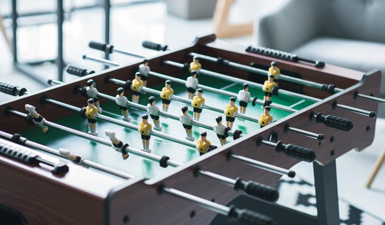 How to Build Your Own Foosball Table