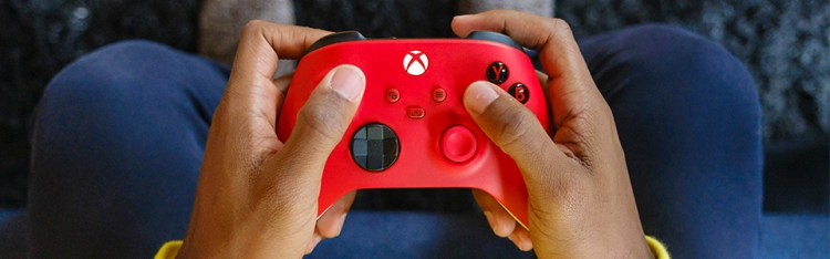 Controller Pulse Red