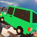 Broken Bridge Car Driving