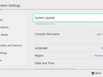 hac screenshot systemsettings system update - Switch: Update 3.0.1 ausgerollt