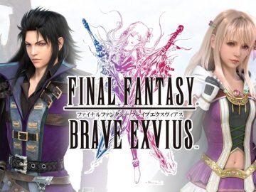 FINAL FANTASY BRAVE EXVIUS Logo - FINAL FANTASY BRAVE EXVIUS: Event bietet Kingdom Hearts-Helden als spielbare Charaktere