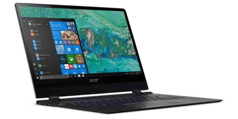 Acer Swift 7 01 - Die Neudefinition des dünnsten Notebooks der Welt - das neue Acer Swift 7