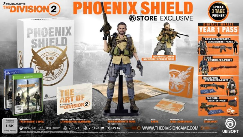 The Division 2 Phoenix Shield Edition