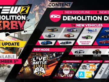 The Crew 2 Demolition 1 - The Crew 2: Demolition Derby und PVP-Update verfügbar