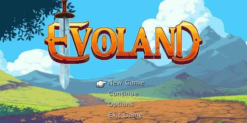 Evoland Logo Screen