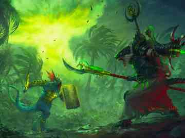 The Prophet And The Warlock Artwork