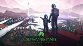 Surviving Mars Green Planet Keyart - Surviving Mars: Green Planet und Project Laika jetzt erhältlich