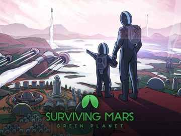 Surviving Mars Green Planet Keyart - Surviving Mars: Green Planet und Project Laika jetzt erhältlich
