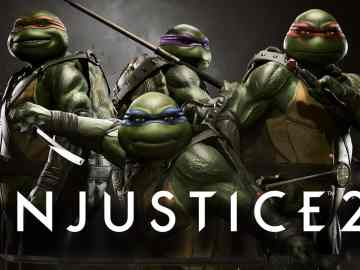 Injustice2 ninja turtles