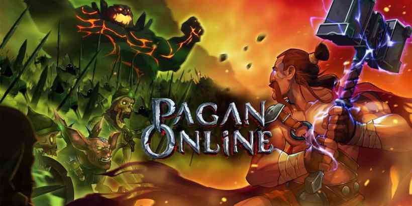 Pagan Online Logo Artwork